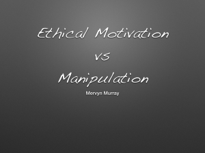 Ethical motivation.001